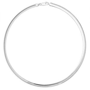Silver Omega Chain