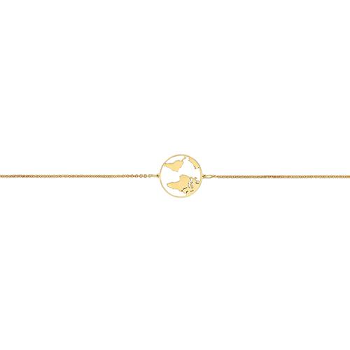 Gold Globe Bracelet